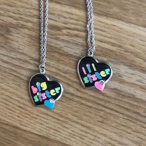 Big & Little Sister Necklace Set
